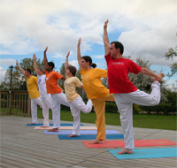 Yoga holiday for your health